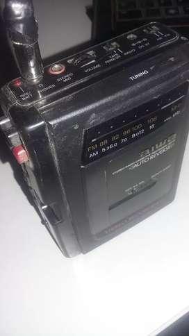 Walkman grabador aiwa