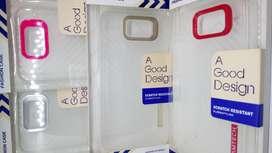 estuche silicona dura transparente huawei y5 II