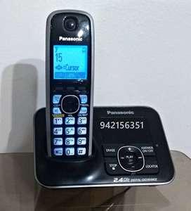 Teléfono Inalámbrico Panasonic Kx-tg3721