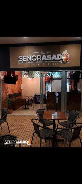 Se vende restaurant EL SEÑOR ASADO