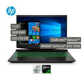 Portatil hp pavilion Gaming 15-dk1026la intel i5 8gb 256gb SSD 15.6 pulgadas