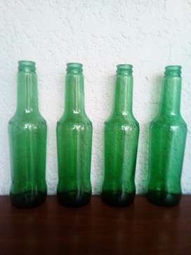 Botellas verdes