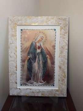 Cuadro del Sagrado corazón  de María