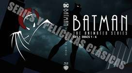 Batman La Serie Animada Completa Remasterizada HD Bluray.