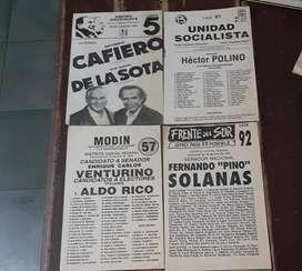 ANTIGUAS BOLETAS ELECTORALES ARGENTINAS