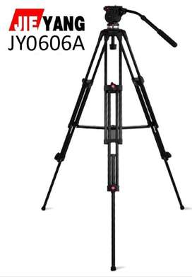 Tripode Fluido Foto Video  compatible Manfrotto Cabezal hasta 8kgs