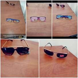 Vendo gafas o lentes de la Empesa Maykol Visión.. Marca de las gafas( RAY BAN - OAKIEY )