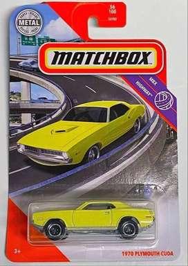 Matchbox 1970 Plymouth Cuda #56 2020