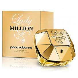 PERFUME LADY MILLION DE PACO RABANNE DAMA CONTENIDO 80 ML ORIGINAL