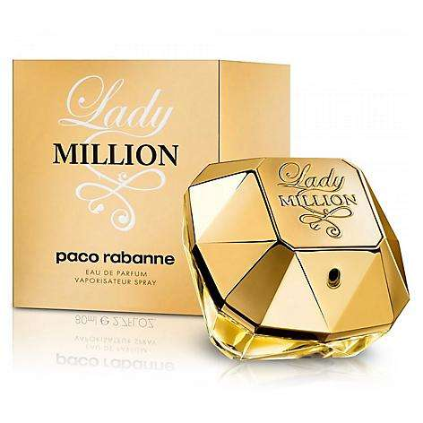 PERFUME LADY MILLION DE PACO RABANNE DAMA CONTENIDO 80 ML ORIGINAL 0