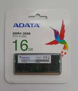 Memoria RAM ADATA ddr4 16gb 2666