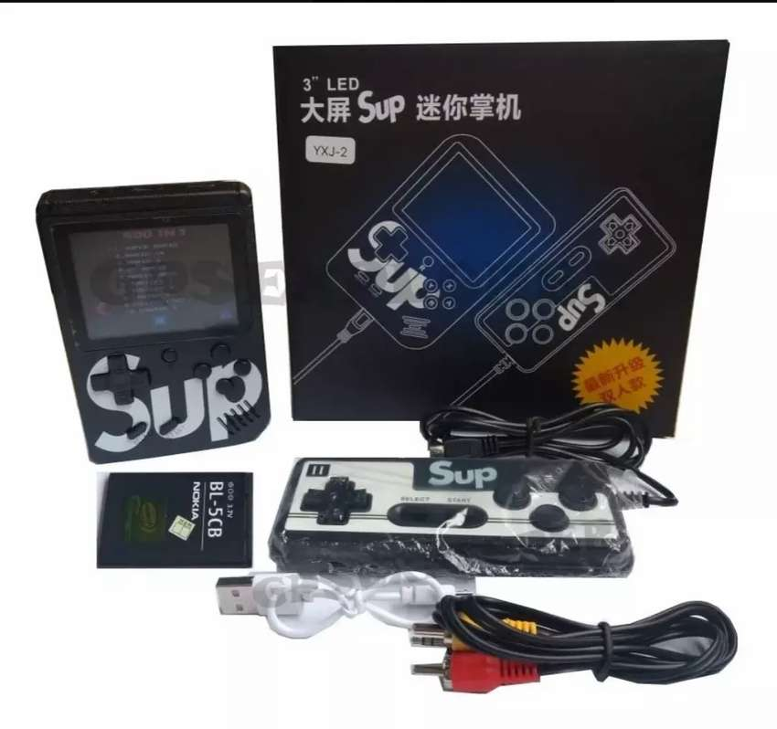 Consola mini retro con control 400 en 1