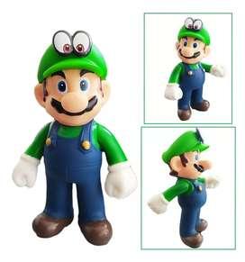 Mario Bros Figura Luigi Juguetes Didácticos Colección