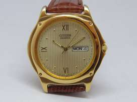 RELOJ CITIZEN 5500-R10354 RS ANALOGO DORADO - FOTOS REALES