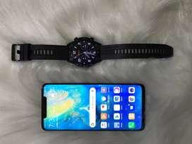 Huawei mate 20 pro + huawei watch gt+ freebuds 3