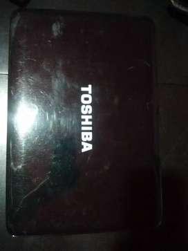 Notebook Toshiba Intel i7