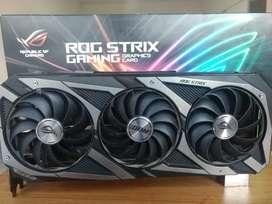 Placa de Video ASUS NVIDIA GeForce RTX 3070 ROG STRIX 8Gb GDDR6