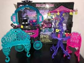 Cafetería Monster High Scaris