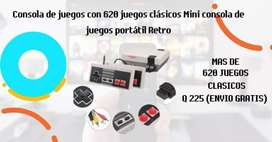 CONSOLA DE VIDEO JUEGOS RETRO