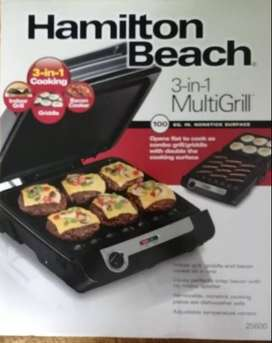 HAMILTON BEACH 3-1 MULTIGRILL 25600