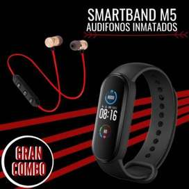 COMBO M5 + AUDIFONOS BLUETOOTH