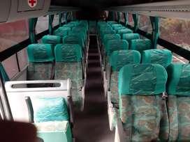 Transporte de pasajeros y alquiler de buseton para paseos y excurciones