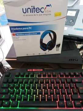Diadema para computador marca Unitec