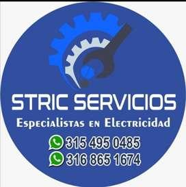 Tecnicos eléctricistas