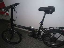 Bicicleta Halley plegable