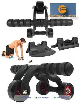 Rodillo abdomina PRO 3 ruedas sport fitness