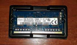 Memoria Ram Ddr3l Pc3l 2gb Portatil 12800s | HMT425S6AFR6A