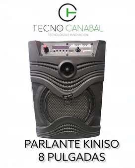 PARLANTE KINISO 8 PULGADAS