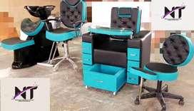 Combo de Muebles para Salon de Belleza