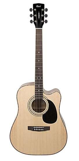 Guitarra Electroacústica Cort Ad880ce Ns Natural