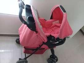 Se vende coche de niña palo de rosa