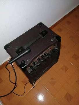 Amplificador de guitarra acoustic marca Laney LA12c precio negociable