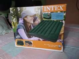 Colchón inflable cama doble Intex