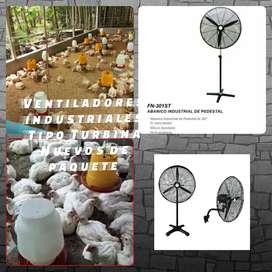 Ventiladores industriales.  Avicolas. 30pulgadas