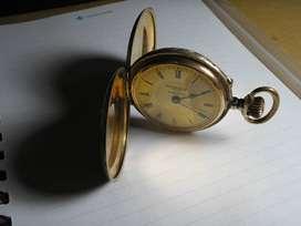 Antiguo reloj REMONTOIRE ,oro,4 tapas