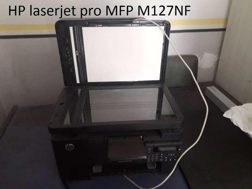 Impresora hp con toner 0
