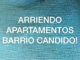 ARRIENDO APARTAMENTOS ECONOMICOS CANDIDO