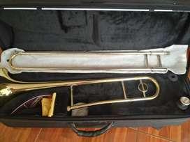 Trombón de vara Wisemann c/ estuche