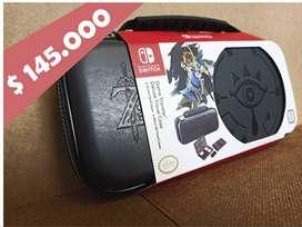 ZELDA - Estuche / Funda Oficial Deluxe Nintendo Switch