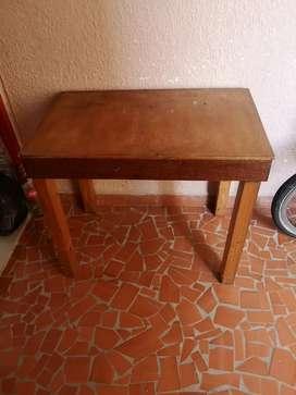 Vendo mesa de madera multiusos