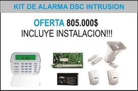 Alarma de instrusion incluye instalacion. GARANTIA