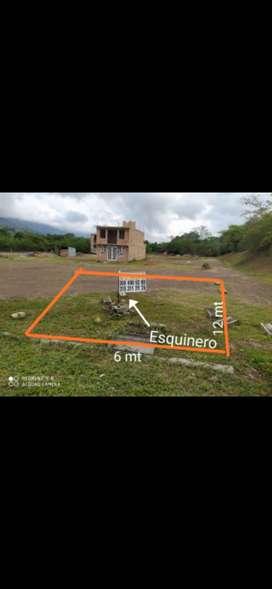 Lote en San Antonio de Anapoima de 6x12 Esquineroero