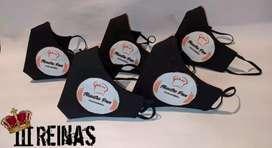Tapabocas reversibles personalizados