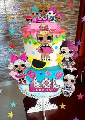 Torta falsa LOL hermosa mas afiches