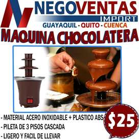 MAQUINA CHOCOLATERA EN DESCUENTO EXCLUSIVO DE NEGOVENTAS