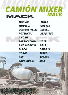 CAMION MIXER MACK